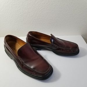 Cole Haan Brown Leather Loafer NikeAir Shoes Sz 11